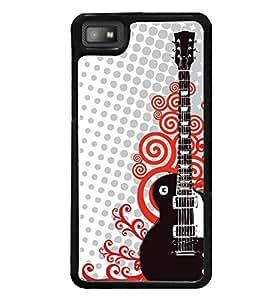 Printvisa Guitar Pattern Back Case Cover for Blackberry Z10