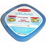 Rubbermaid  Medium Blue Ice for Easy Find Lid Containers