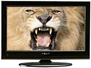 Nevir NVR-7201-19HD-N - Televisión LCD, pantalla de 19 pulgadas, Dolby digital plus, USB 2.0, color negro