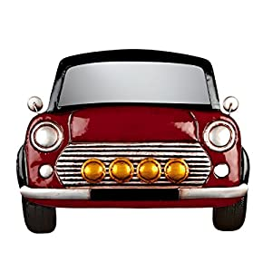 Red Mini Garden Wall Art from Direct Global Trading