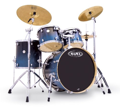Buying Drum Set : buy cheap mapex meridian standard 5 drum set transparent sapphire fade on sale drum sets ~ Vivirlamusica.com Haus und Dekorationen