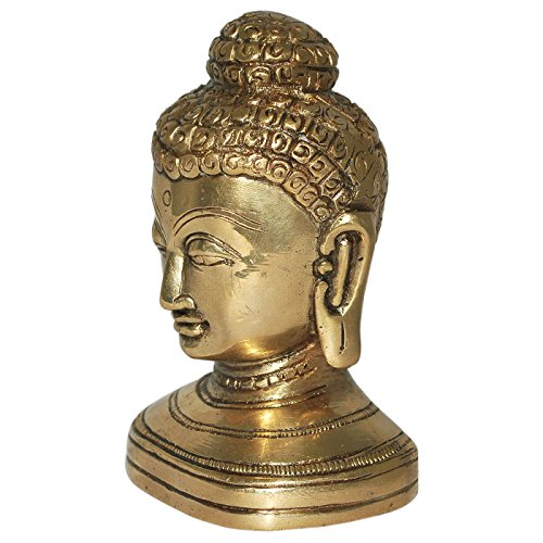 Indian Buddha Statue Head Head Indian Buddha Statue