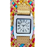 Eleganzza analog white dial women's watch -321