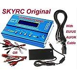 Original SKYRC IMAX B6 Digital RC Lipo NiMh Battery Balance Charger With US 12v 5A AC POWER Supply