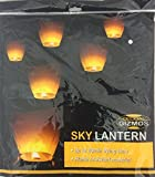 5 x Eco Friendly Sky Lanterns for Christmas, New Years Eve, Chinese New Year, Weddings & Parties (40cms 58cms x 105cms)