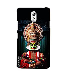 Omnam Tradition Of Indian Dance Printed Designer Back Cover Case For Lenovo Vibe P1 M