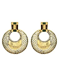Asmara Antique Gold Plated Earrings