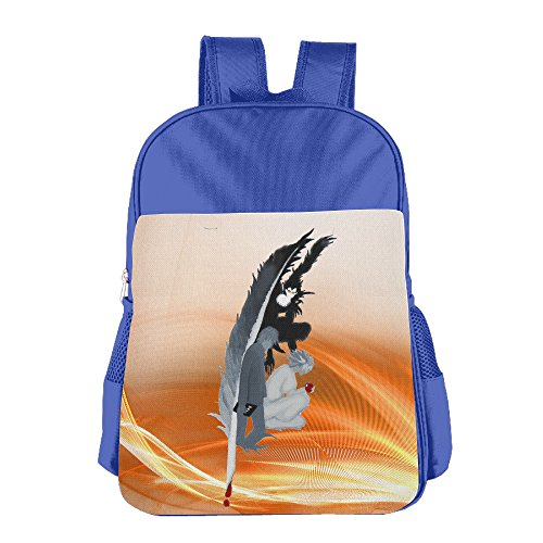 deadly-pen-death-note-l-kids-school-backpack-bag-royalblue