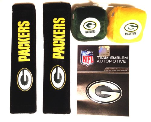 Green Bay Packers Fuzzy Dice Price Compare