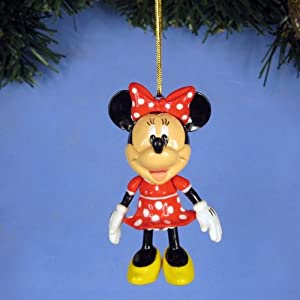 *A245 Minnie Decoration Ornament Party Xmas Tree Home Decor Disney Mickey Minnie Mouse Cartoon Model (Original from TheBestMoment @ Amazon)