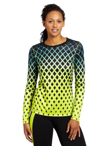 Asics Women'S Samantha Tee Shirt, Large, Wow Lime