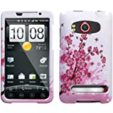 Spring Flower Design Snap On Hard Case for HTC EVO 4G [Wireless Phone Accessory]
