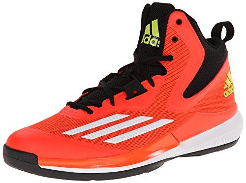 Adidas Performance Men'S Title Run Basketball Shoe, Solar Red/White/Black, 8.5 M Us