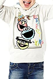 Cotton Rich Sesame Street Hooded Top [T88-0565C-Z]