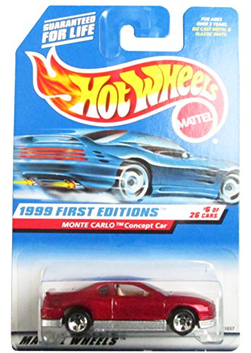 1999 First Editions #6 Monte Carlo Concept Car Maroon #910 Mint - 1