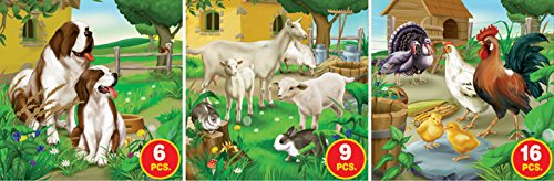 D-Toys Farm Life - Series 1 Jigsaw Puzzle, Variable Piece Count