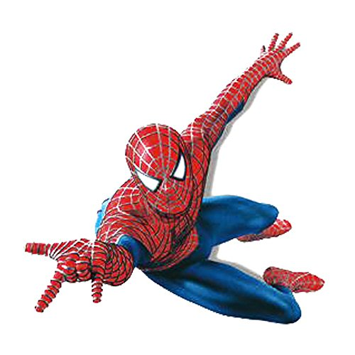 Winhappyhome Cartoon Spider-Man Kids Wall Stickers for Bedroom Living Room Background Removable Mural Drawings Home Decor Decals