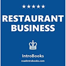 Restaurant Business Audiobook by  IntroBooks Narrated by Andrea Giordani