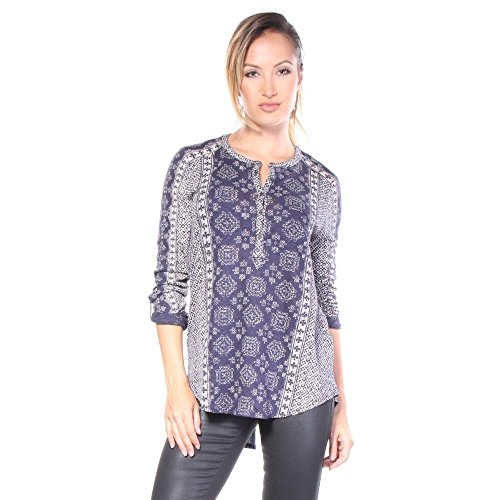 lucky-brand-etched-geo-blouse-blouse-blue-xs-women