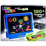 Lite Brite Magic Screen - 150 Pegs, 4 Reusable Templates