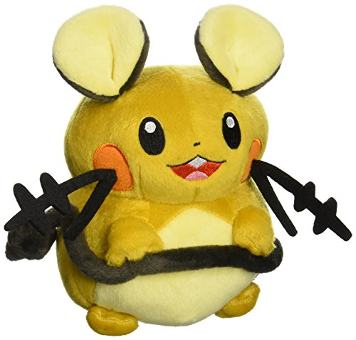 "Takaratomy New Pokemon N-05 X and Y Dedenne 7"" Plush Doll - 1"