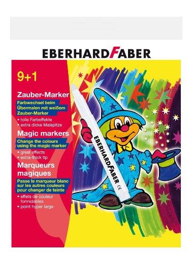 Eberhard Faber 551010 - Zauber Marker 10er, Kartonetui hergestellt von Eberhard Faber