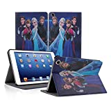 Sanheshun Smart Frozen Anna & Elsa Leather Case Cover For ipad Mini 2 3 w/Retina Display (Prince&Princess)