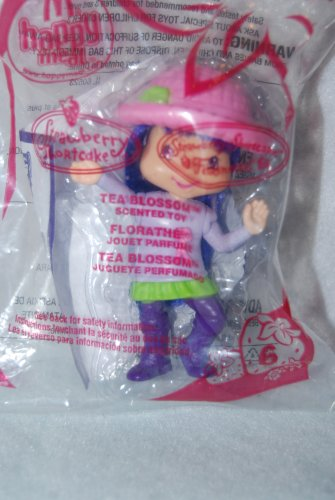 McDonalds Happy Meal 2007 Strawberry Shortcake Tea Blossom #6 - 1