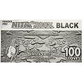 Emerald 1083-B Nitrile Exam Glove, 5ml, Black