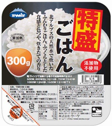 ウーケ fluffy rice specially assorted domestic production 100% 300 g x 24