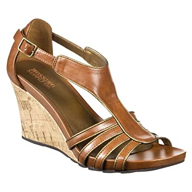 Product Image Women's Mossimo Supply Co. Wakana Strappy Wedge Sandals - Brown