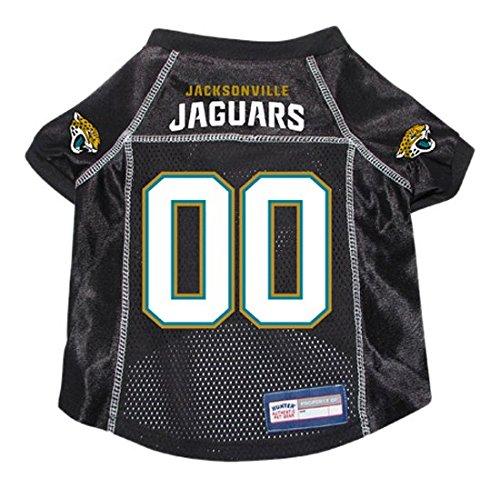 NFL Jacksonville Jaguars Hunter Pet Jersey, X-Large, Black