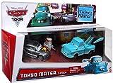 Disney Pixar Cars Toon Exclusive Die-Cast Tokyo Mater 3-Pack (Manji, Tokyo Mater, and Teki)
