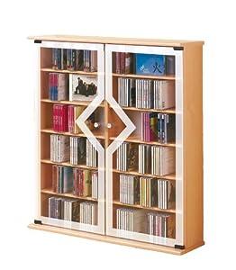 Vcm 50423 torre porta cd dvd venezia per 300 cd in - Porta dvd in legno ...
