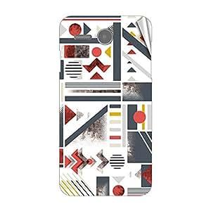 Garmor Designer Mobile Skin Sticker For Lenovo S810T - Mobile Sticker