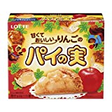 ロッテ 甘くておいしいりんごのパイの実 69g×10個