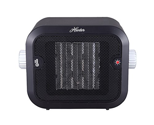 Hunter PC-003BK Retro Ceramic Space Heater (Black) (Hunter Heater Ceramic compare prices)