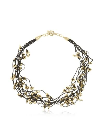 Karine Sultan Gold Ox Nuggets Necklace