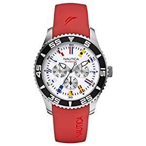Nautica A12628G Flags Multifunction Mens Watch