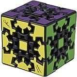 3D ギアキューブ ブラック