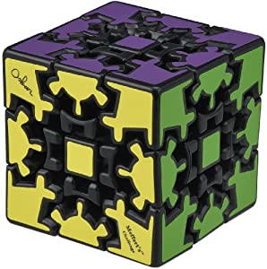 Takara Tomy 3D Gear Cube Puzzle Black Designed by Uwe Meffert