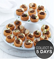 24 Mini Beef-filled Yorkshire Puddings