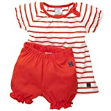POLARN O. PYRET Classic Stripe Dress And Bloomer Set