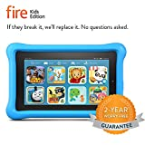 Fire Kids Edition Tablet, 7 Display, Wi-Fi, 8 GB, Blue Kid-Proof Case