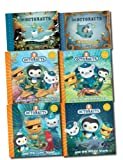 Harpercollins The Octonauts Collection 6 Books Set (Octonauts and the Giant Squid, Octonauts and the Decorator Crab, Octonauts and the Whale Shark, Octonauts and the Electric Torpedo Rays, Octonauts and the Sea of Shade, Octonauts and the Great Ghost Ree