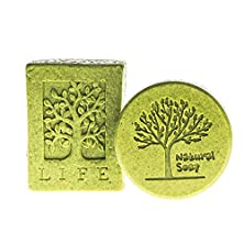buy Moringa Soap- Organic Moringa Extract- Amazing Cleansers For Acne And Pimples - Green Powder Exfoliating Soap - Remove Blemishes, Scars And Spots- 200G