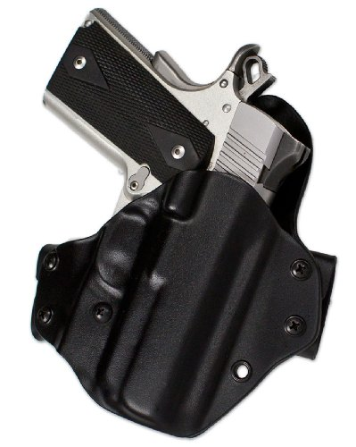 Blade-Tech 1911 Eclipse OWB Commander Holster for Right Hand (Black, 4.25-Inch)