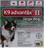 Bayer Advantix II, Large Dogs, 21 to 55-Pound, 4-Month