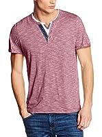 Tom Tailor Camiseta Manga Corta (Rosa Oscuro)