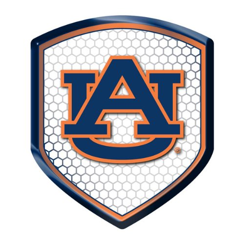 Auburn Tigers NCAA Reflector Decal Auto Shield for Car Truck Mailbox Locker Sticker College Licensed Team Logo at Amazon.com
